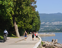 Biking Around Stanley Park - Vancouver, BC