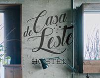 Casa de Leste Hostel - Visual Identity