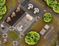 Rescue Team | Cenários 3D