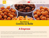 Website Coxinha no balde