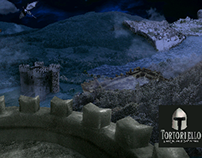 matte painting medieval