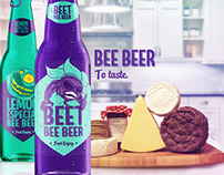 Bee Beer - Illustration and Packaging