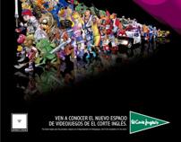 2012. El Corte Inglés Juegos. Para TBWA