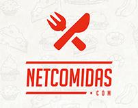 NetComidas & NetBebidas - Branding