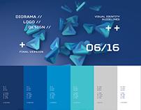 Diorama Logo Design