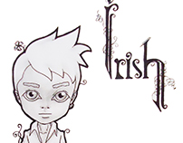 Irish Chibi Characters