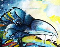 Watercolor Illustrations // Ilustraciones en acuarela.