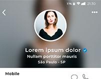 Cover LinkdinApp. Ux Design. Atividades.