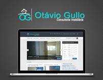 Logomarca e Web Site Otavio Gullo Imoveis