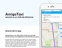 AmigoTaxi - Transportation App