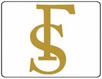 Logomarca e arte para placa - Stefanelli & Faria