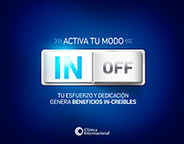 Clinica Internacional - IN • OFF