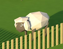 """The Little Big Farm"" Low Poly Animation."