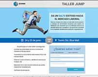 Landing Page - Taller Jump