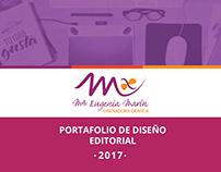 PORTAFOLIO DISEÑO EDITORIAL