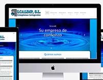 Web y rediseño de imagen corporativa de Alcalimp, s.l.