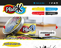 Plati-k Website Design