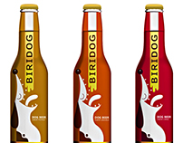 Biridog beer packaging
