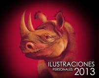 Ilustraciones personales 2013