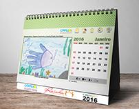 Calendário de Mesa - 2016