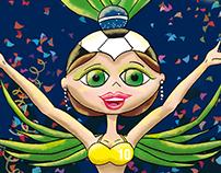 Bailarina de Zamba