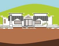 Casa unifamiliar una planta: CASA ARTICULADA