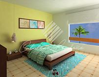 Visualización habitación