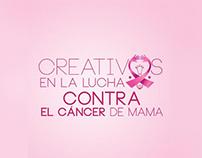 Creativos en la lucha contra el cáncer de mama