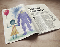 Ilustrações | Desalento como Amigo - VS174