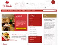 Website Restaurante Da Terrinha