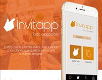 Desarrollo de aplicación - Invitapp