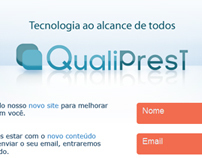 Qualiprest - Institutional web site