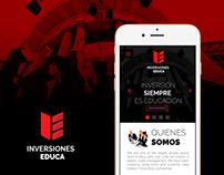 Inversiones Educa Website