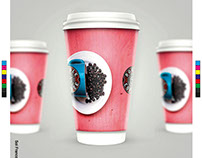 Flyer Vaso de Café