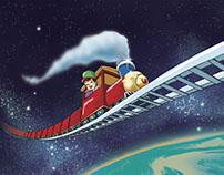 El tren espacial