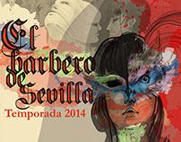 """Posters para obra """"El Barbero de Sevilla"""""""
