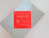Convite de casamento - Taly e Luiz