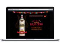 """Website Jose Cuervo """"Bajo Cero"""""""