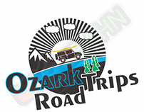 LOGO AND CHARACTER DESIGN for Ozark Road Trips from USA