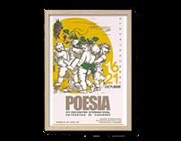 Identidad visual: Encuentro Internacional POESIA (2016)
