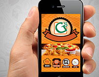 Creation of Template for APP Restaurant