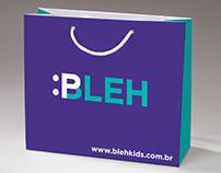 Identidade Visual - Bleh Kids
