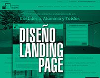 Landing Page Cristaleria Tristan