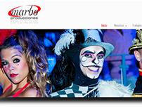 Marbo Producciones web design