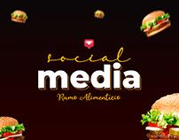 Social Media - Alimentos