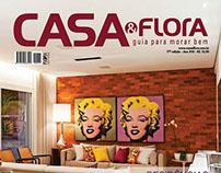 Anúncios Editoriais Revista Casa&Flora  Edª70