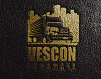 LOGO - MOCKUP LEATHER FOR VESCON PANAMA S.A