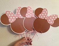 Minnie Mouse Birthday Party Supply
