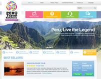 Peru Travel Now website