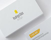 [OLD] Personal Branding | Rodrigo Dias Design